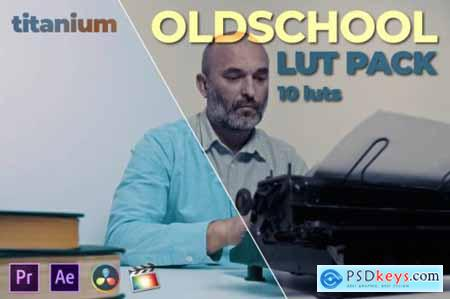 Titanium Oldschool LUT Pack (10 Luts)