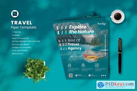 Travel flyer Template vol-03 CDMTG8G