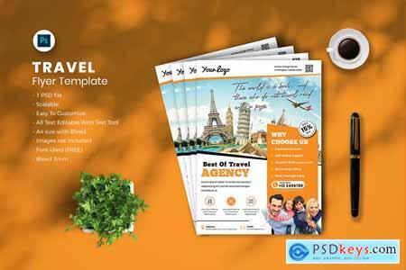 Travel flyer Template vol-09 7LFSNTU