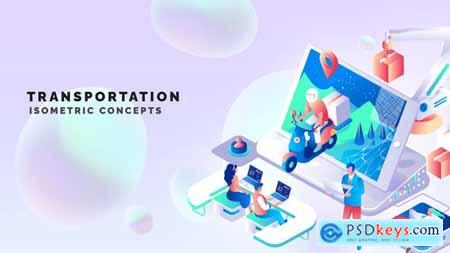 Transportation - Isometric Concept 33518745