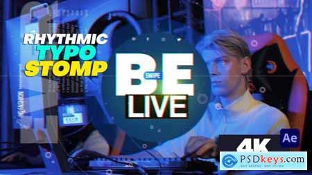 Rhythmic Typo Stomp 33506162