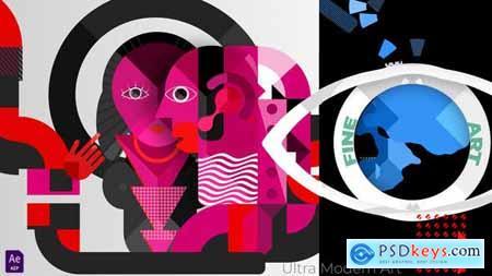 Ultra Modern Art & Motion Design Logo 27703970
