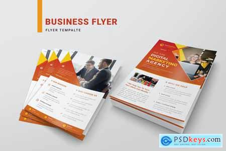Business Flyer Template RDG3TLA