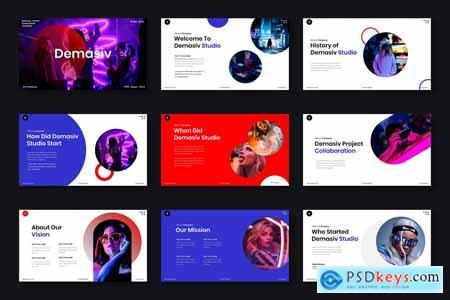 Demasiv – Business Powerpoint, Keynote and Google Slides
