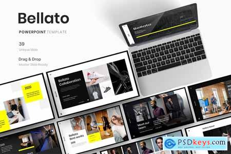 Bellato - Business Powerpoint, Keynote and Google Slides