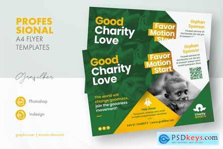 Charity Flyer Templates HS2L2MQ