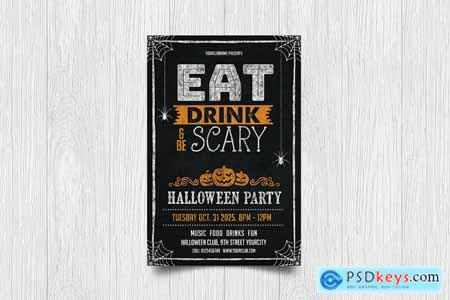 Eat Drink Be Scary - Halloween Party M9T9RR5