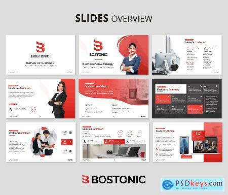 Bostonic Business Plan PPT Presentation Template P2246HX