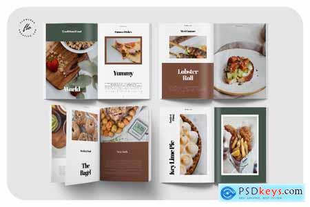 Cuisine Food Recipe Cookbook 2LJHAGM