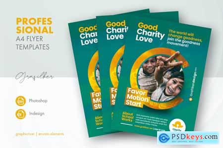 Charity Flyer Templates 27748525