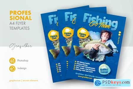 Fishing Flyer Templates 27153404