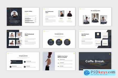 Blastery - Business Presentation Powerpoint, Keynote and Google Slides Template