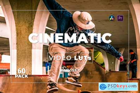 Bangset Cinematic Pack 60 Video LUTs FWHZTCZ