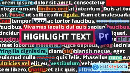 Highlight Text Premiere Pro 33590565