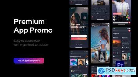 Premium Clean App Promo for Premiere Pro 33585434