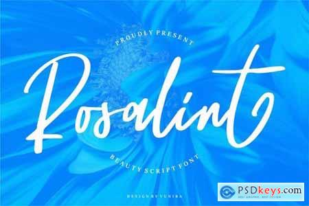 Rosalint Beauty Script Font