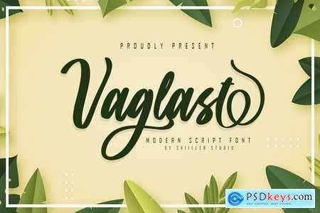 Vaglast - Modern Script Font