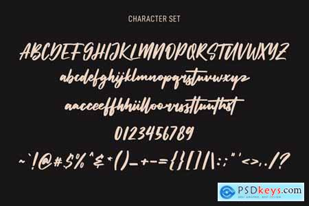 Sunsetstill Signature Script Font