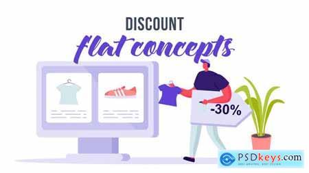 Discount - Flat Concept 33639469