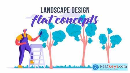 Landscape design - Flat Concept 33619925