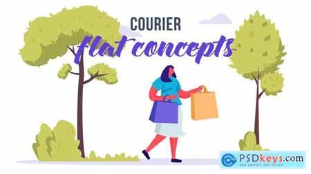 Courier - Flat Concept 33639411