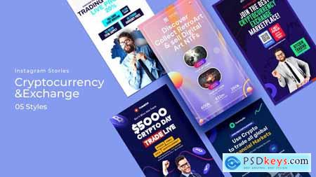 Cryptocurrency & Exchange Instagram Stories 33677264