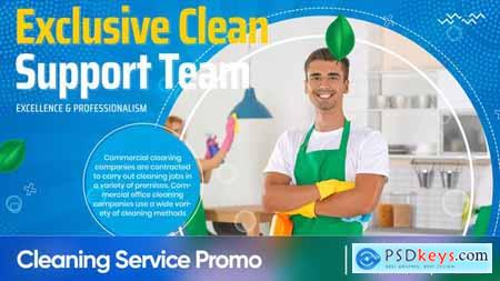 Cleaning Service Promo 33649272