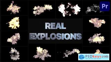 Real Explosions Premiere Pro MOGRT 33635886