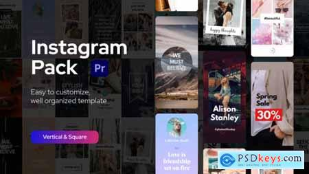 Instagram Pack for Premiere Pro 33650439