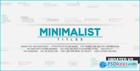 Minimalist Titles 14677323