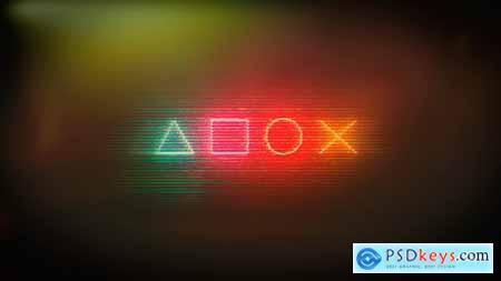 Neon Buttons Logo 20677404