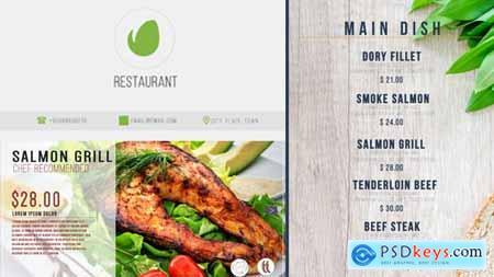 Restaurant Digital Food Menu 19892670