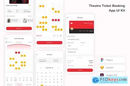 Movie Ticket Booking App UI Kit GA62VGV