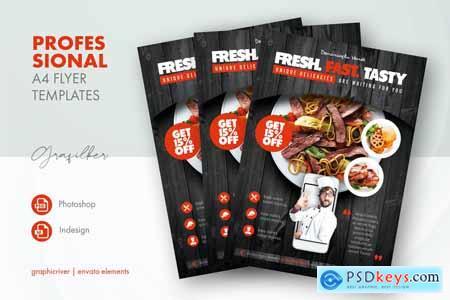 Restaurant Flyer Templates 17717685