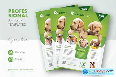 Pet Shop Flyer Templates FBUQAYU