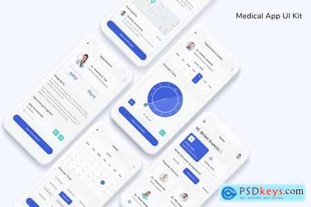 Medical App UI Kit K9V9UT7