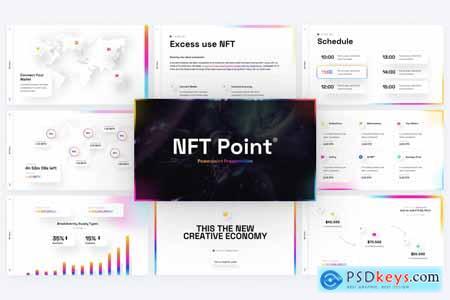 NFT Point Digital PowerPoint Template 4HTCZTW