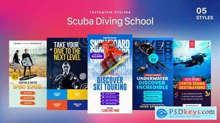 Scuba Diving School Instagram Stories 33753896