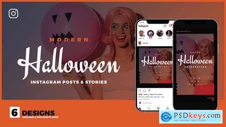 Halloween Sale Instagram Promo B133 33752253