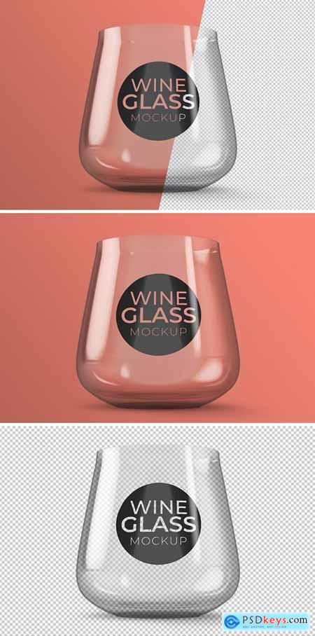 Wine Glass Mockup