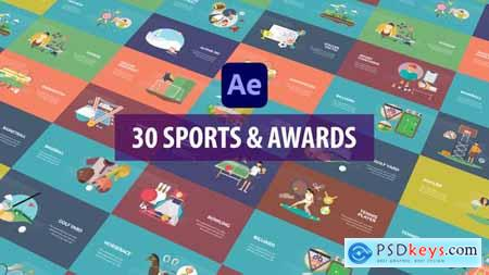 Sport and Awards Animation - After Effects 33754744