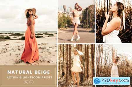 Natural Beige Action & Lightrom Presets