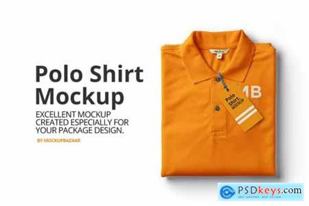 Polo Shirt Mockup 6396051