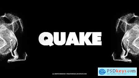 Quake! The Black Typography 23708113