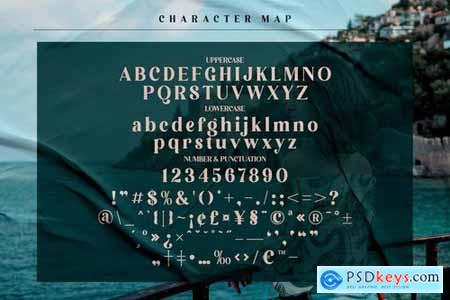 Lebagof Modern Serif Font