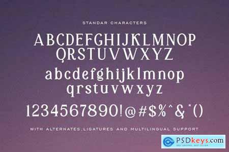 Kiara - Modern Serif