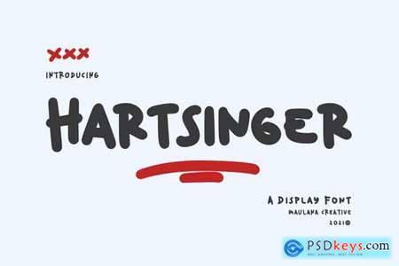 Hartsinger Unique Display Font