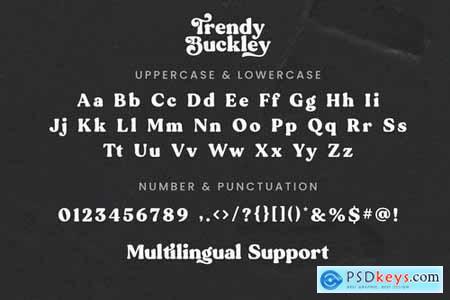 Trendy Buckley