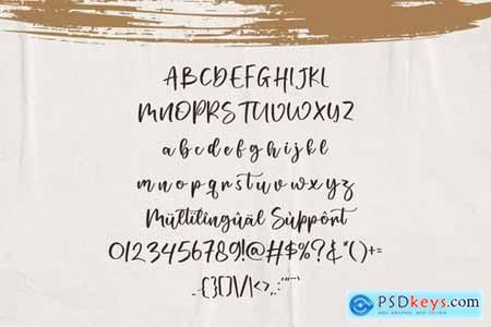Midlake - Brush Script Font
