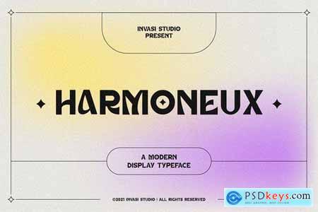 Harmoneux Modern Display
